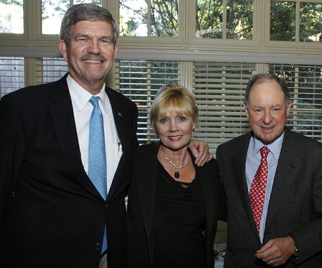 Larry & Pat Cox, & Arnold Perl