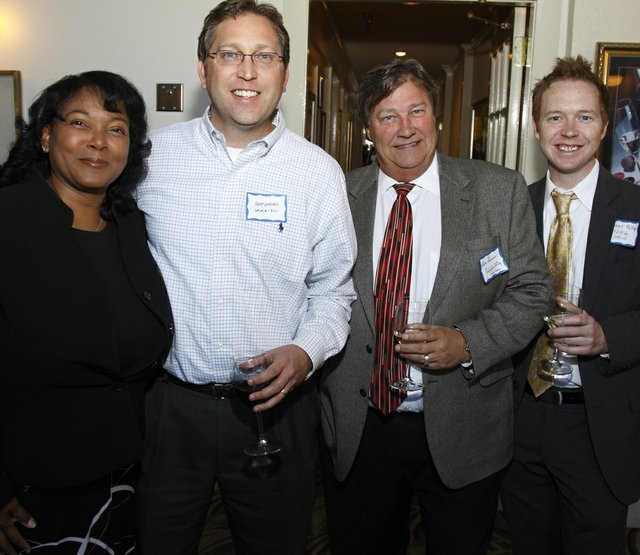 Sheila Champlin, Andy Windham, Allen Champlin, & Robert Phillips