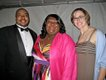 Calvin and Quortina Phipps with Sarah Squire