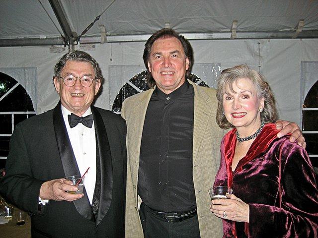 Marsh Gibson, Louis Otey (Scarpia), and Anne Gibson