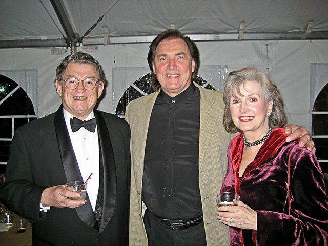 Marsh Gibson, Louis Otey (Scarpia), and Anne Gibson