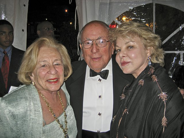 Honey and Rudi Scheidt with Diane Levy