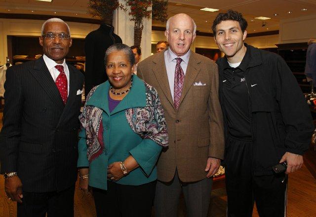Mayor and Mrs.  A.C. Wharton, Van Weinberg, and Josh Pastner