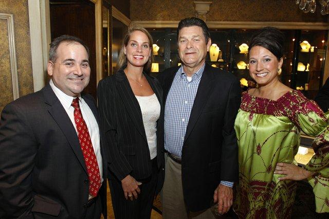 Buddy Carter, Kimberly and Bexley Jackson, and Heather Grisanti