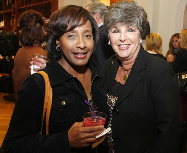 Jopie Merriweather and Janet Burkett