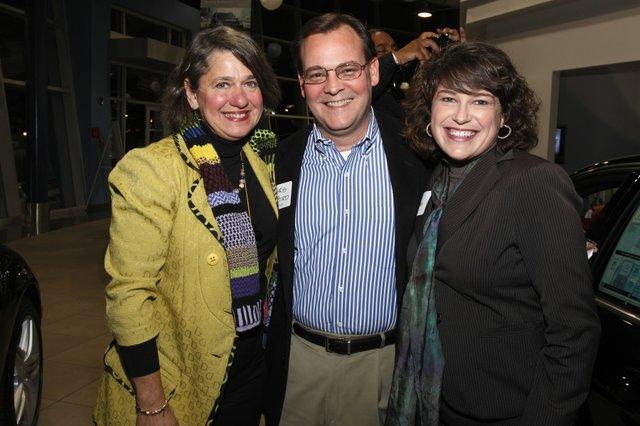 Joy Bateman, Chris Byrd, and Shali Atkinson