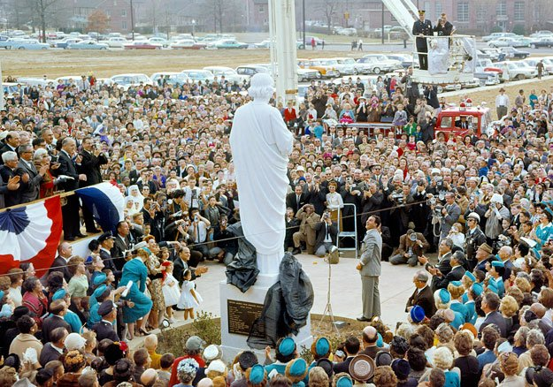 St. Jude opening ceremony with Danny Thomas, 1962