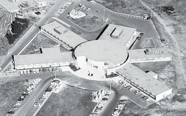 Aerial view of St. Jude as it looked in 1962. Photo Courtesy St. Jude.