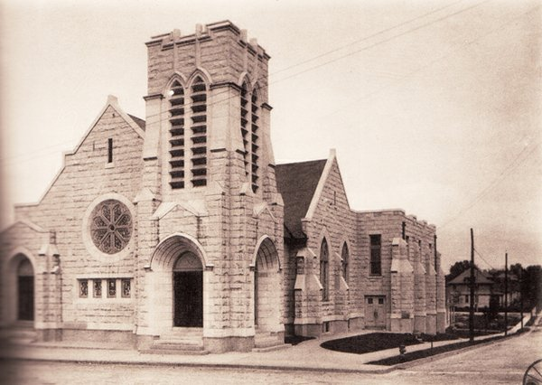 Madison Heights Methodist Church in 1914