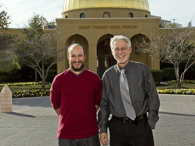 Damien and Jim Kovarik