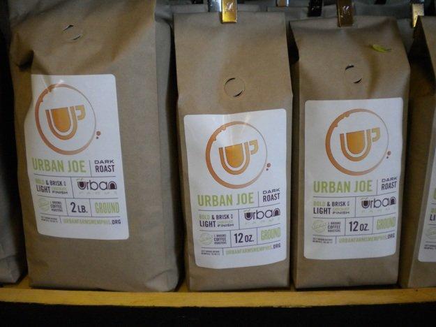 Urban Farms Market has a new private label roast from J.Brooks Roasters: Urban Joe.