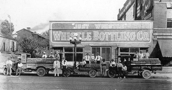 Whistle Bottling Co. in 1919