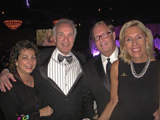 Cathy Shaker Breit, Dr. Bob Breit, Kevin Dwer, and Ann Danner