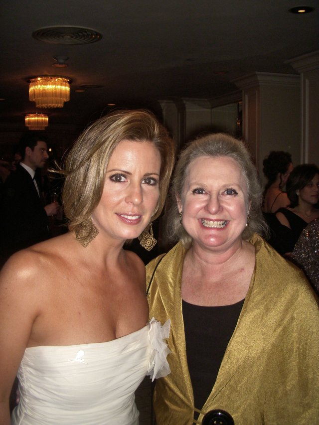Martha Byrne and Janie Hopkins