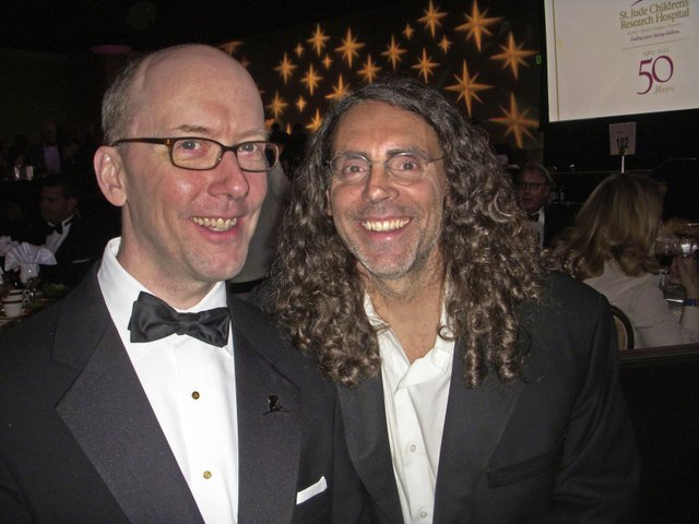 Temple Brown and Tom Shadyac