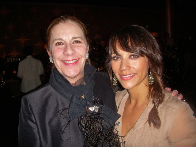 Brenda Chandler Cooke and Rashida Jones