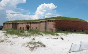 Fort Massachusetts on Ship Island