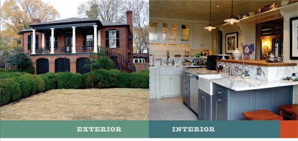 Griffin's emphasis was upon tasteful modernization rather than major restoration with this recent Chickasaw Gardens project. Kitchen remodels have been a Griffin specialty over the last quarter-century.