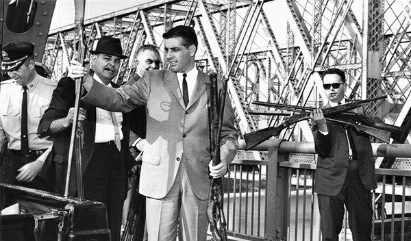 Memphis-Arkansas Bridge, 1964