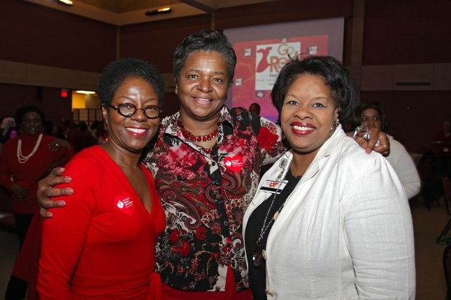 Glenda Alexander, Eunice Taylor, Paula Webber