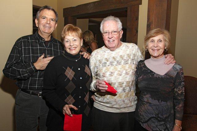 Lamar & Connie Black, Bill & Charlotte Mitchell