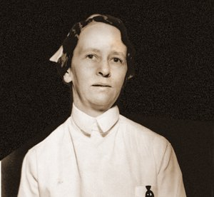 Myrtle Archer was an inspiration to nurses since the first days of Baptist Memorial Hospital.