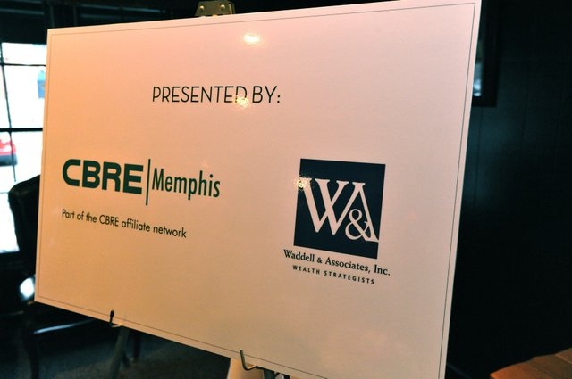 Thanks to our sponsors CBRE and Waddell and Associates.
