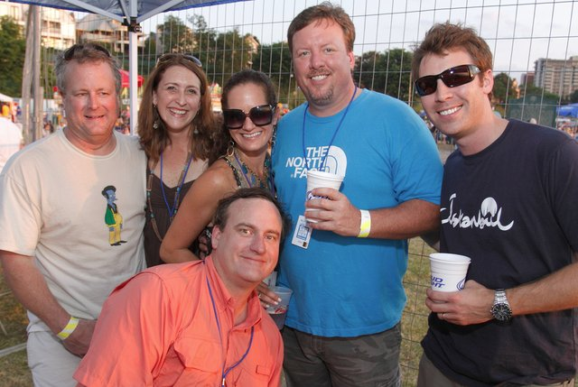 David Herbers, Lee Googe, Kellie Clements, Billy Cochran, Michael Marshall, Tommy Prest in front
