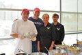 The Ziparo's Catering team: Eduardo Garcia, Joe Ziparo, Cheryl Heinz-Dinger and Will Knutson