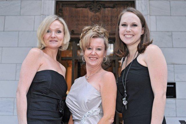 Kathryn Smith, Kathy Sisinni, and Marla Williams