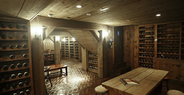 This extrodinary Germantown wine cellar could just as easily be located beneath a chateau in France's Loire Valley.