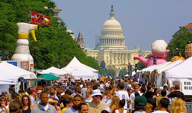 The National Capital Barbecue Battle expects thousands of visitors this weekend.