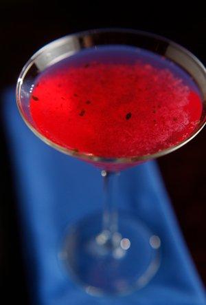 Bleu's signature cocktail