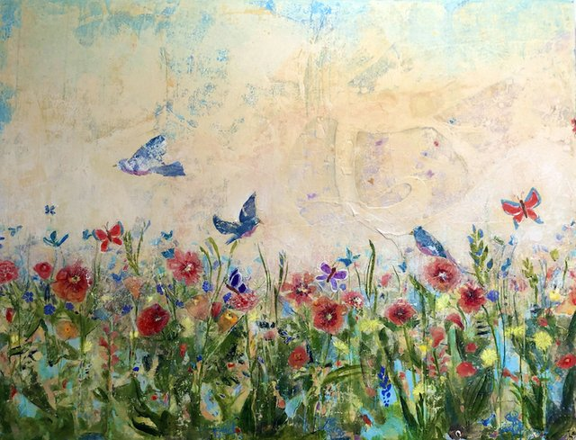 """Opening reception for """"Birdsong,"""" L. Ross Gallery"""