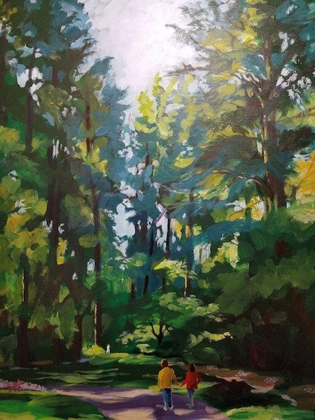 Bartlett Art Association Exhibition, Memphis Botanic Garden