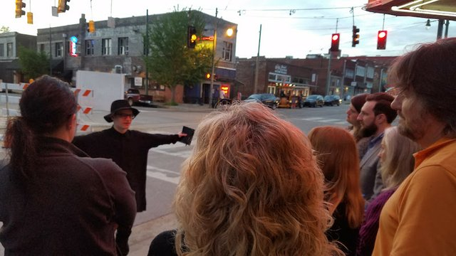 Walking Tour and Ghost Hunt, The Broom Closet