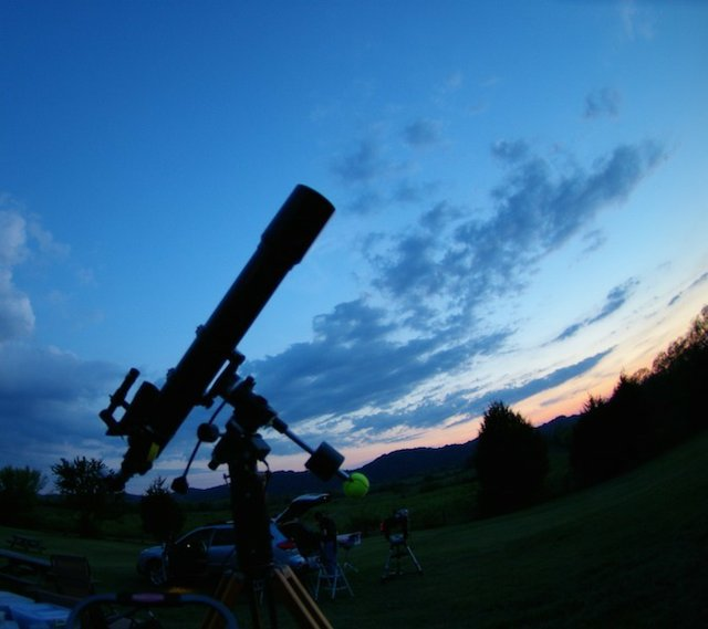 Tennessee Virtual Star Party, Online