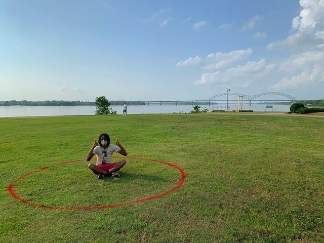 Mask Up, Memphis  — Memphis River Park (Fourth Bluff)