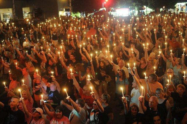 Candlelight Vigil — Elvis Week, Graceland