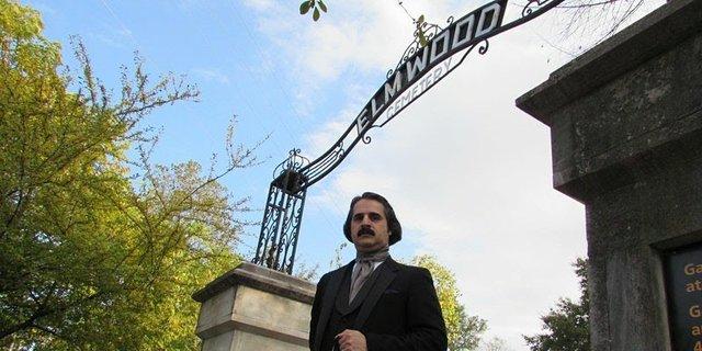 A Virtual Visit with Edgar Allan Poe, Elmwood Cemetery