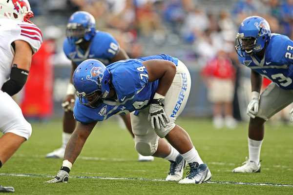 U of M defensive tackle Dontari Poe was selected by Kansas City with the 11th pick in the 2012 NFL draft.