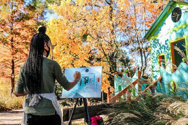 Plein Air Exhibition, Memphis Botanic Garden
