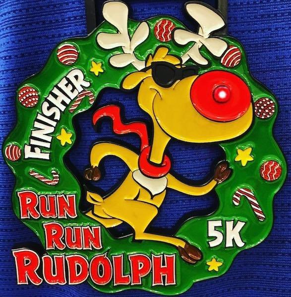 Run Run Rudolph 5K Walk Run, Online from The Virtual Run Challenge