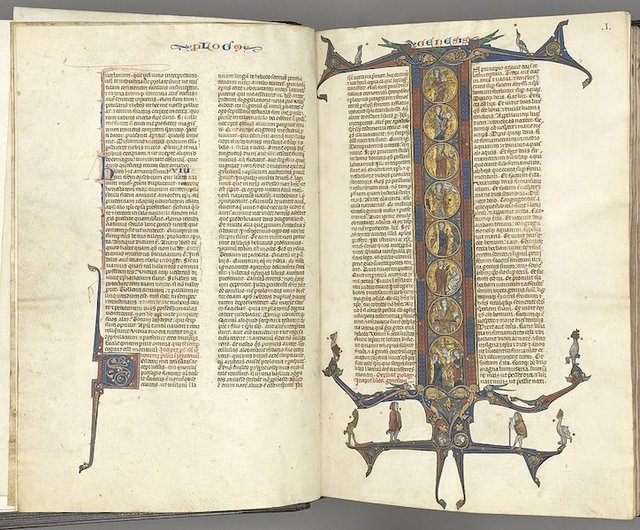 """""""The Bible in the Medieval World,"""" online from dixon.org"""