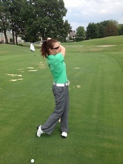 Michaelyn Bradford, assistant golf pro at TPC Southwind