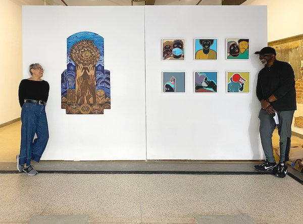 """Artist reception for """"Assessment,"""" 2021 Projects"""