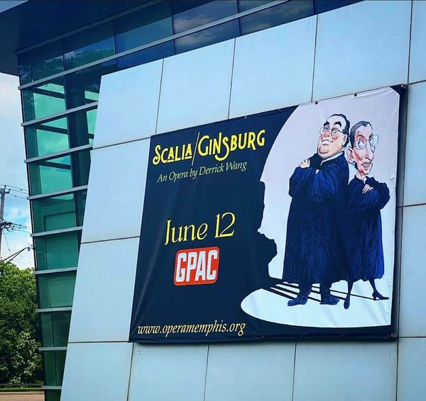 Scalia/Gingberg presented by Opera Memphis, Germantown Performing Arts Center