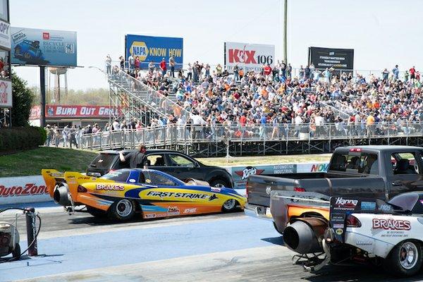 Chevy Show, Memphis International Raceway