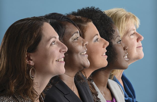 {L to R} Jenny Turner Koltnow, Rosalind Martin, Chelsea Boozer, Lori Spicer, Dr. Mary Relling