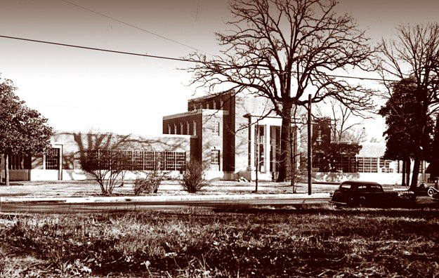 William R. Moore School of Technology in the 1940s